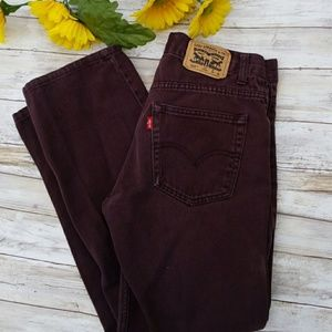 Levi's  505 straight leg jeans 28 x 28 -- 5/$25
